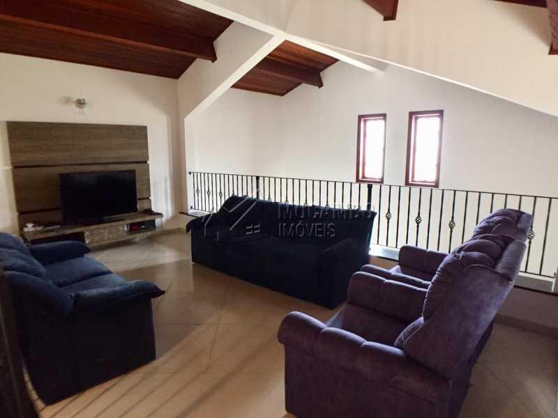 Sala de TV - Chácara 1000m² à venda Itatiba,SP - R$ 670.000 - FCCH30106 - 10
