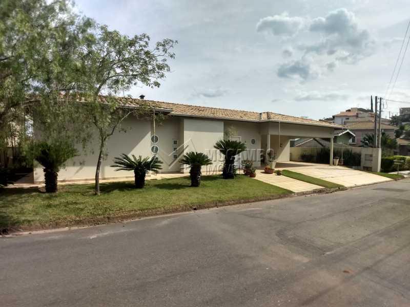 Fachada - Casa em Condominio Para Alugar - Itatiba - SP - Residencial Fazenda Serrinha - FCCN40119 - 3