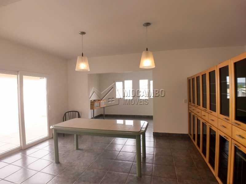 Sala de Jantar - Casa em Condominio Para Alugar - Itatiba - SP - Residencial Fazenda Serrinha - FCCN40119 - 7