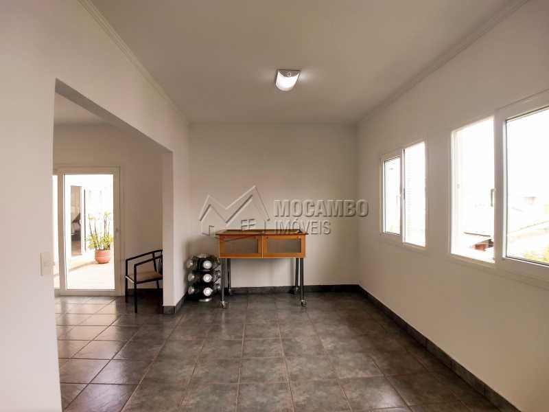Área de Churrasqueira - Casa em Condominio Para Alugar - Itatiba - SP - Residencial Fazenda Serrinha - FCCN40119 - 18