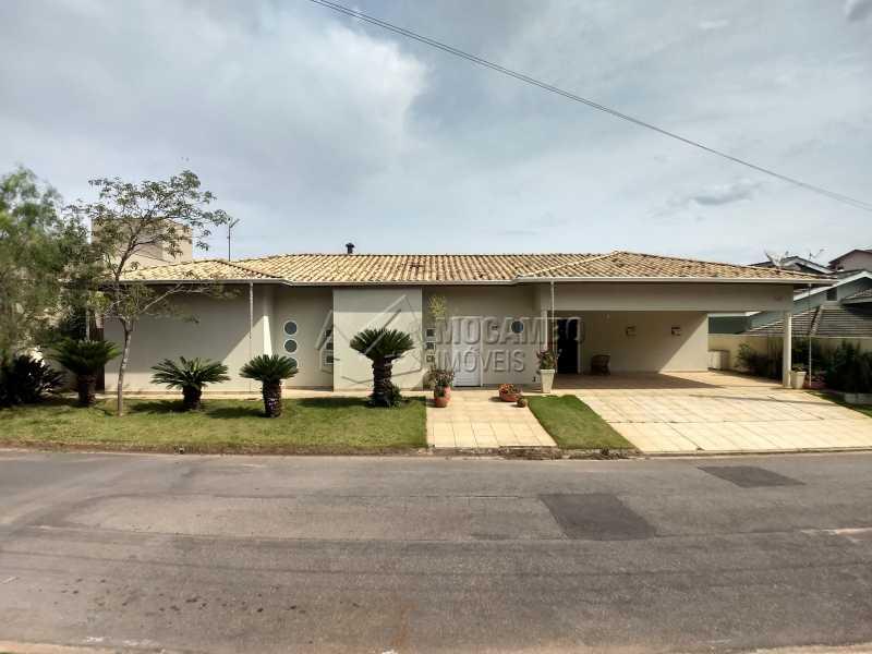 Fachada - Casa em Condominio Para Alugar - Itatiba - SP - Residencial Fazenda Serrinha - FCCN40119 - 1