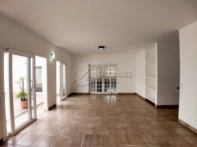 Sala - Casa em Condominio Para Alugar - Itatiba - SP - Residencial Fazenda Serrinha - FCCN40119 - 5