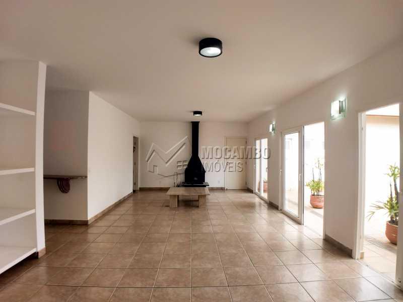 Sala - Casa em Condominio Para Alugar - Itatiba - SP - Residencial Fazenda Serrinha - FCCN40119 - 4