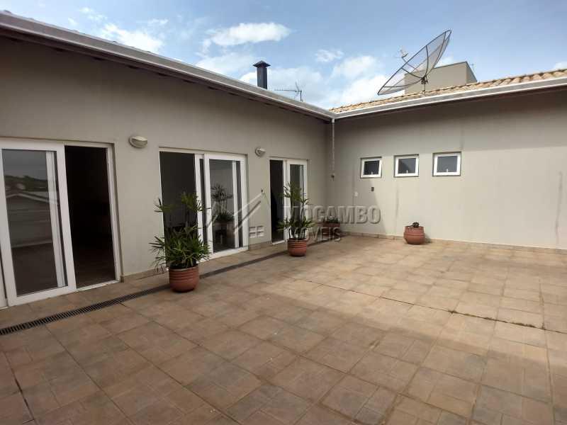 Área de Serviço - Casa em Condominio Para Alugar - Itatiba - SP - Residencial Fazenda Serrinha - FCCN40119 - 19