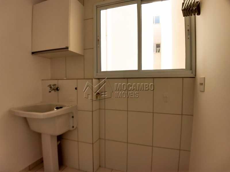 Área de Serviço - Apartamento 2 quartos para alugar Itatiba,SP - R$ 1.000 - FCAP20827 - 8