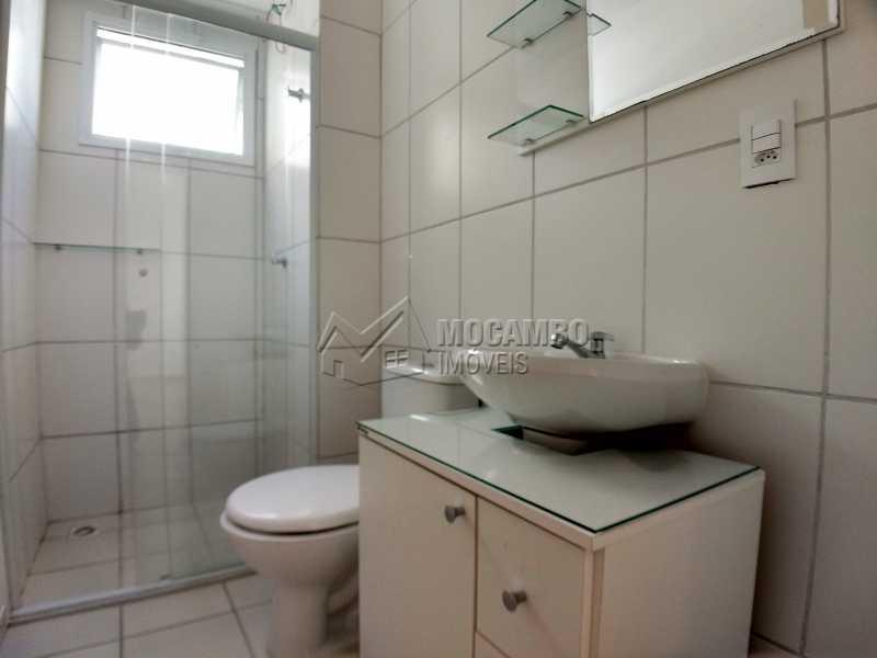 Banheiro Social - Apartamento 2 quartos para alugar Itatiba,SP - R$ 1.000 - FCAP20827 - 7