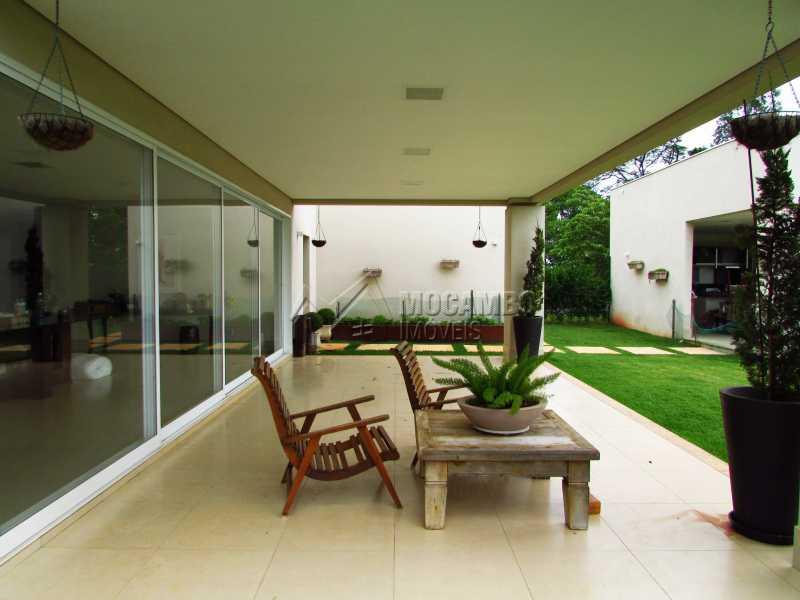 Varanda - Casa em Condominio Para Alugar - Itatiba - SP - Jardim das Laranjeiras - FCCN30362 - 14