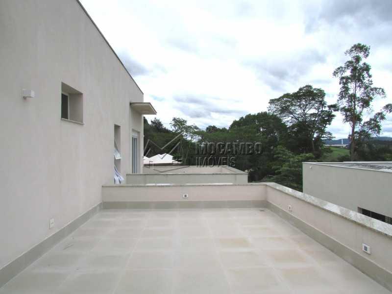 Varanda suíte - Casa em Condominio Para Alugar - Itatiba - SP - Jardim das Laranjeiras - FCCN30362 - 15