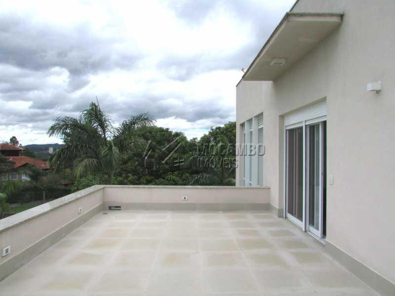 Varanda sala - Casa em Condominio Para Alugar - Itatiba - SP - Jardim das Laranjeiras - FCCN30362 - 16