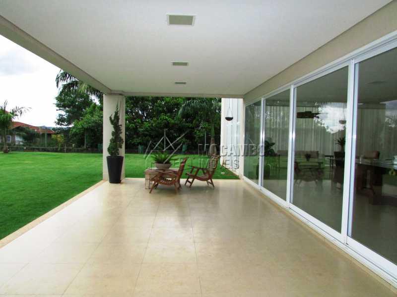 Varanda - Casa em Condominio Para Alugar - Itatiba - SP - Jardim das Laranjeiras - FCCN30362 - 17