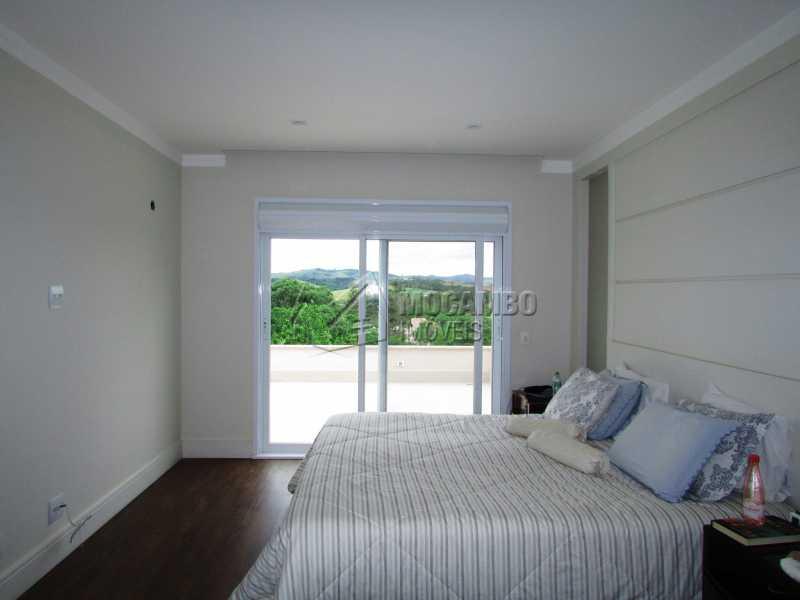 Suíte master - Casa em Condominio Para Alugar - Itatiba - SP - Jardim das Laranjeiras - FCCN30362 - 25
