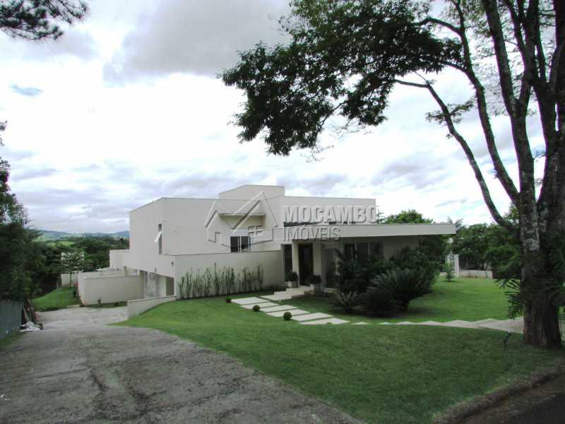 Fachada - Casa em Condominio Para Alugar - Itatiba - SP - Jardim das Laranjeiras - FCCN30362 - 10