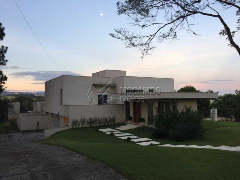 Fachada - Casa em Condominio Para Alugar - Itatiba - SP - Jardim das Laranjeiras - FCCN30362 - 1