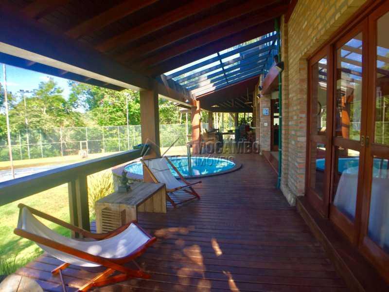 Varanda - Casa em Condominio À Venda - Itatiba - SP - Sítio da Moenda - FCCN10001 - 9