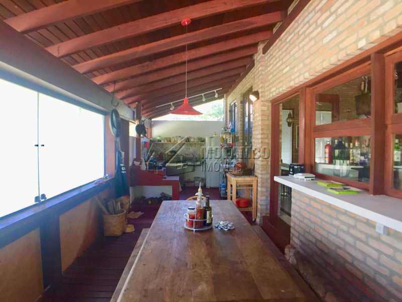 Cozinha  - Casa em Condominio À Venda - Itatiba - SP - Sítio da Moenda - FCCN10001 - 12