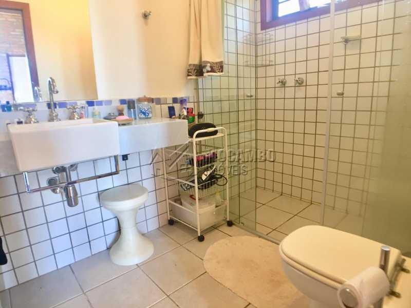 Banheiro Suíte  - Casa em Condominio À Venda - Itatiba - SP - Sítio da Moenda - FCCN10001 - 16