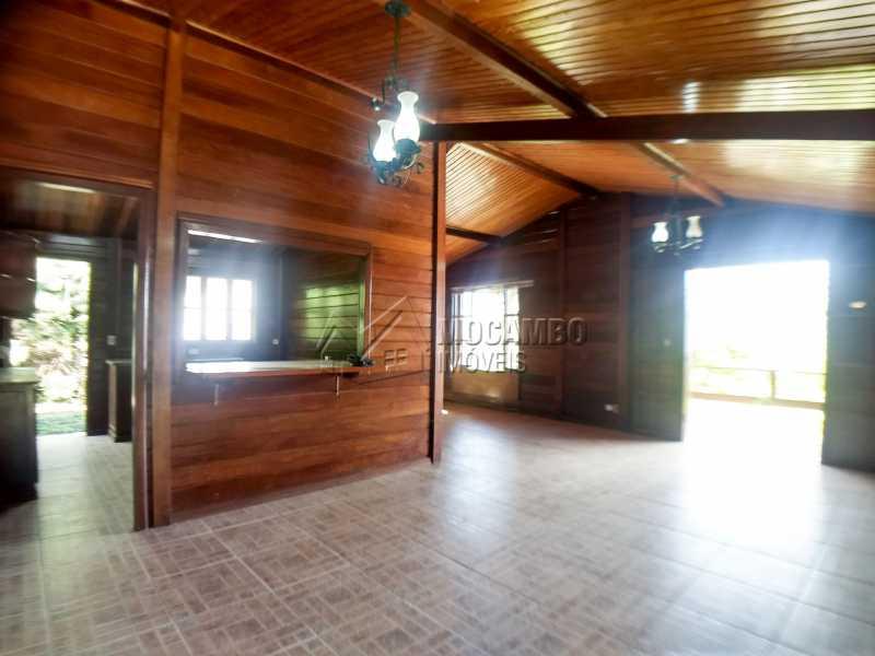 Sala - Casa em Condominio Para Alugar - Itatiba - SP - Ville Chamonix - FCCN30364 - 15