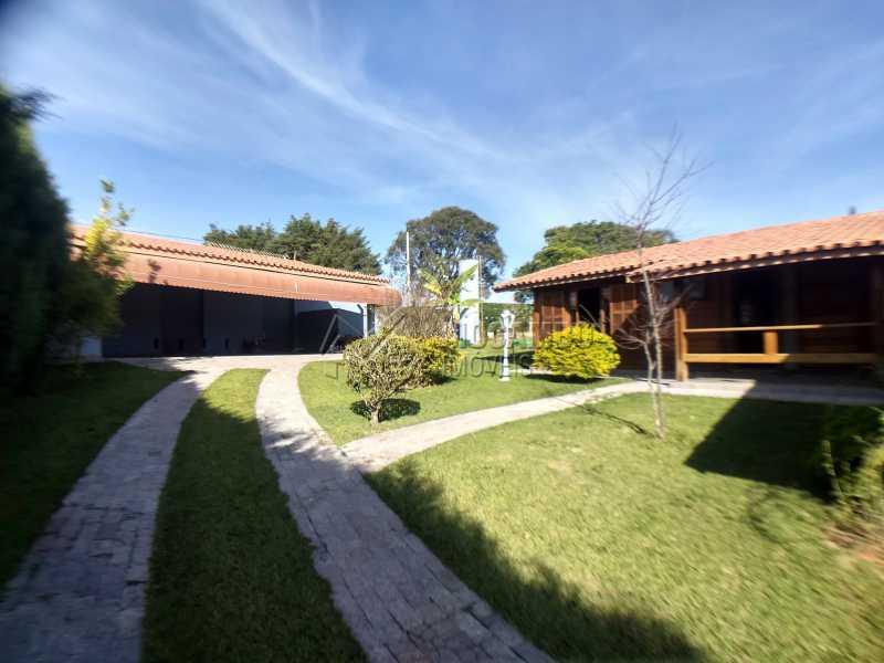 Área Externa - Casa em Condominio Para Alugar - Itatiba - SP - Ville Chamonix - FCCN30364 - 6