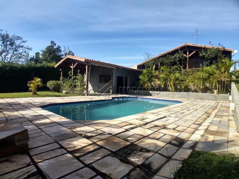 Área Externa - Casa em Condominio Para Alugar - Itatiba - SP - Ville Chamonix - FCCN30364 - 11