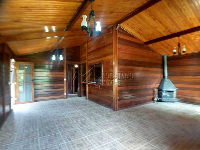 Sala - Casa em Condominio Para Alugar - Itatiba - SP - Ville Chamonix - FCCN30364 - 14