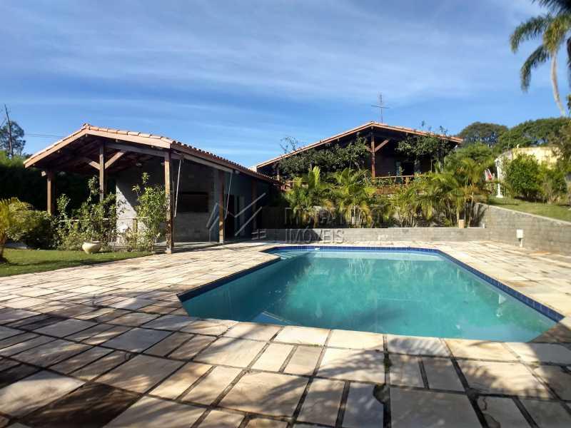 Área Externa - Casa em Condominio Para Alugar - Itatiba - SP - Ville Chamonix - FCCN30364 - 12