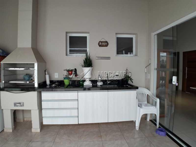 Àrea Gourmet - Casa em Condominio À Venda - Itatiba - SP - Residencial Fazenda Serrinha - FCCN30365 - 15