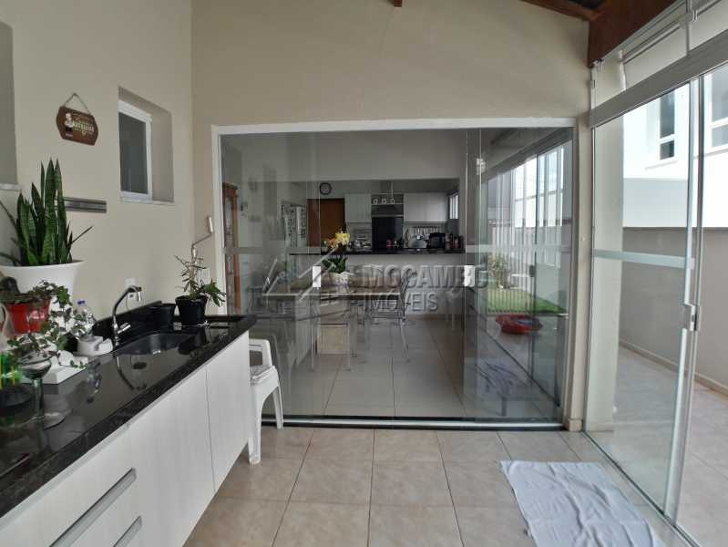 Área Gourmet - Casa em Condominio À Venda - Itatiba - SP - Residencial Fazenda Serrinha - FCCN30365 - 16