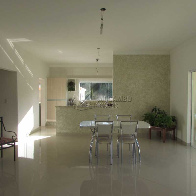 Sala de Estar/ Jantar - Casa em Condominio À VENDA, Itatiba Country Club, Itatiba, SP - CD30030 - 5