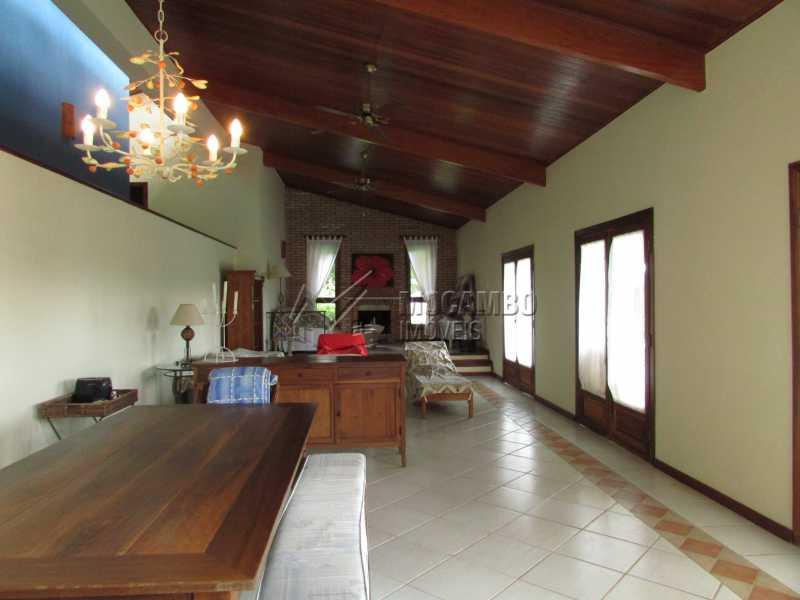 Sala 2 ambientes - Casa em Condominio Para Alugar - Itatiba - SP - Sítio da Moenda - FCCN60006 - 5