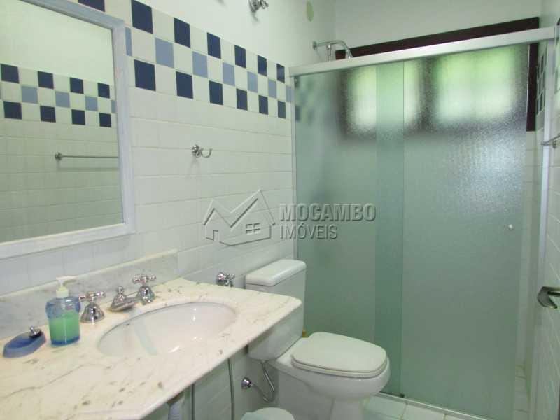 Banheiro social - Casa em Condominio Para Alugar - Itatiba - SP - Sítio da Moenda - FCCN60006 - 15