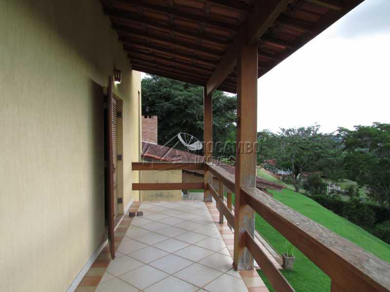 Varanda - Casa em Condominio Para Alugar - Itatiba - SP - Sítio da Moenda - FCCN60006 - 17