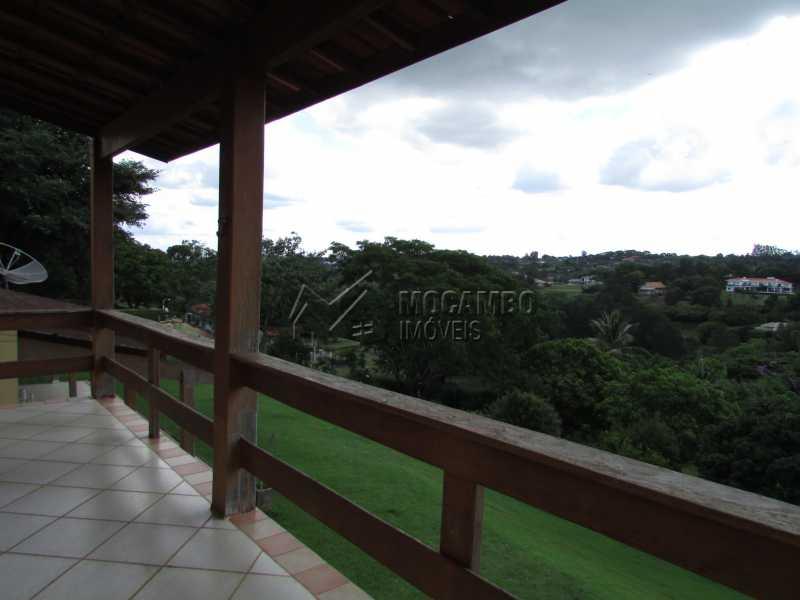 Varanda - Casa em Condominio Para Alugar - Itatiba - SP - Sítio da Moenda - FCCN60006 - 18