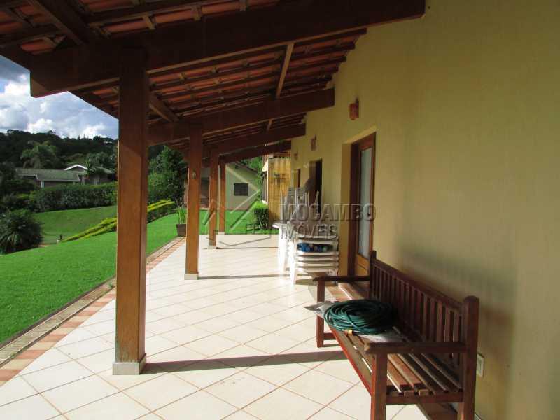 varanda - Casa em Condominio Para Alugar - Itatiba - SP - Sítio da Moenda - FCCN60006 - 19