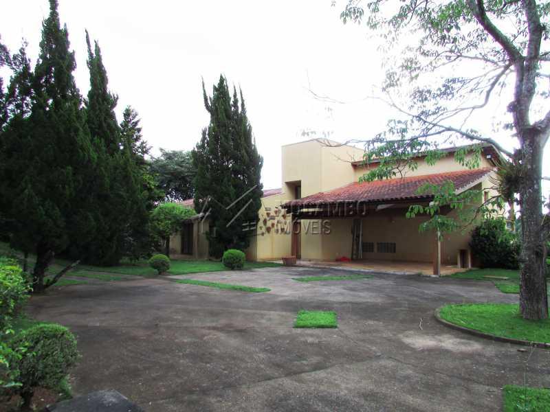 Quintal amplo - Casa em Condominio Para Alugar - Itatiba - SP - Sítio da Moenda - FCCN60006 - 28