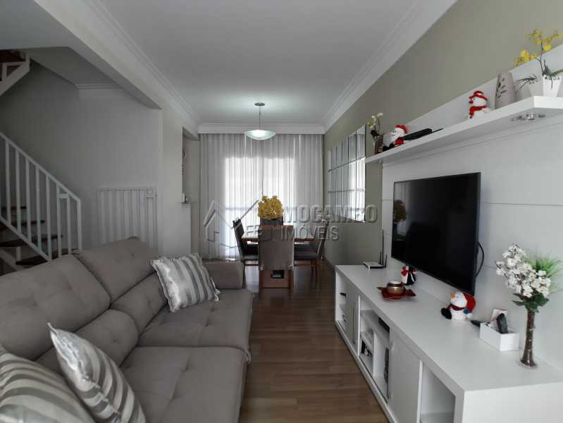 Sala - Casa em Condominio À Venda - Itatiba - SP - Jardim México - FCCN30366 - 3