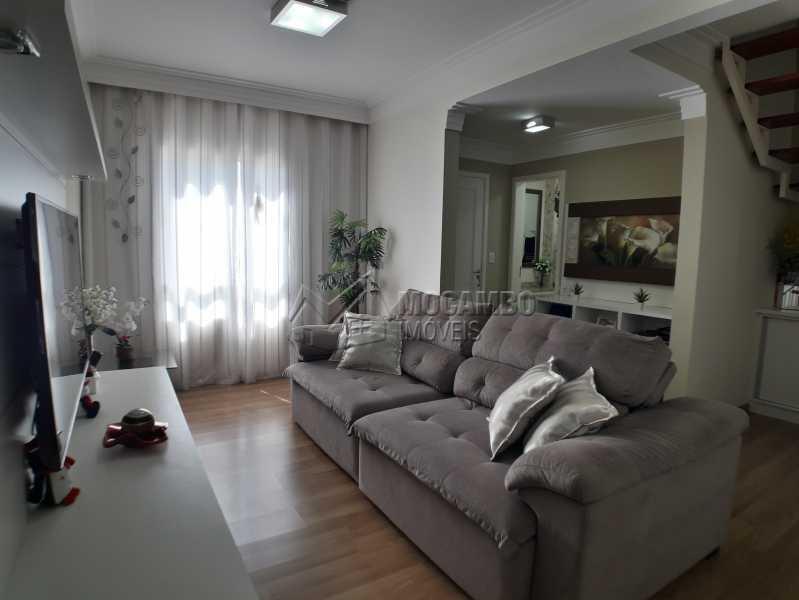 Sala - Casa em Condominio À Venda - Itatiba - SP - Jardim México - FCCN30366 - 1