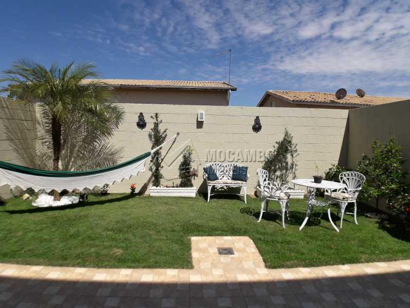 Quintal - Casa em Condominio À Venda - Itatiba - SP - Jardim México - FCCN30366 - 6