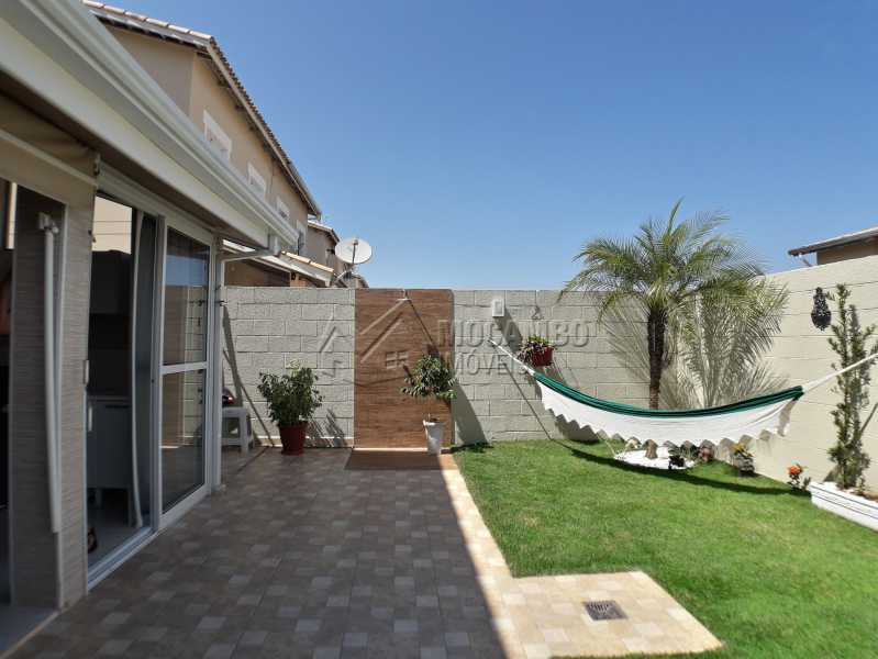 Quintal - Casa em Condominio À Venda - Itatiba - SP - Jardim México - FCCN30366 - 7