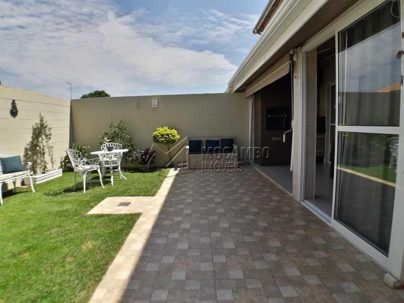 Quintal - Casa em Condominio À Venda - Itatiba - SP - Jardim México - FCCN30366 - 8