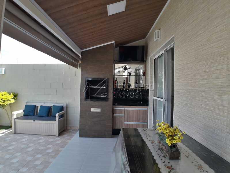 Área Gourmet - Casa em Condominio À Venda - Itatiba - SP - Jardim México - FCCN30366 - 9