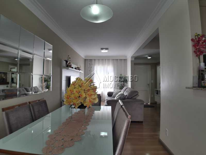 Sala Ambientes - Casa em Condomínio 3 Quartos À Venda Itatiba,SP - R$ 500.000 - FCCN30366 - 4