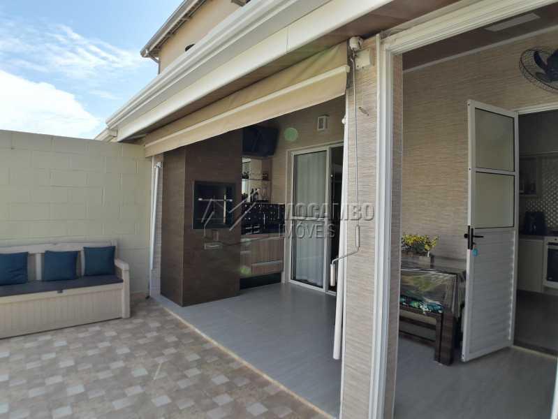 Área Externa - Casa em Condomínio 3 Quartos À Venda Itatiba,SP - R$ 500.000 - FCCN30366 - 10