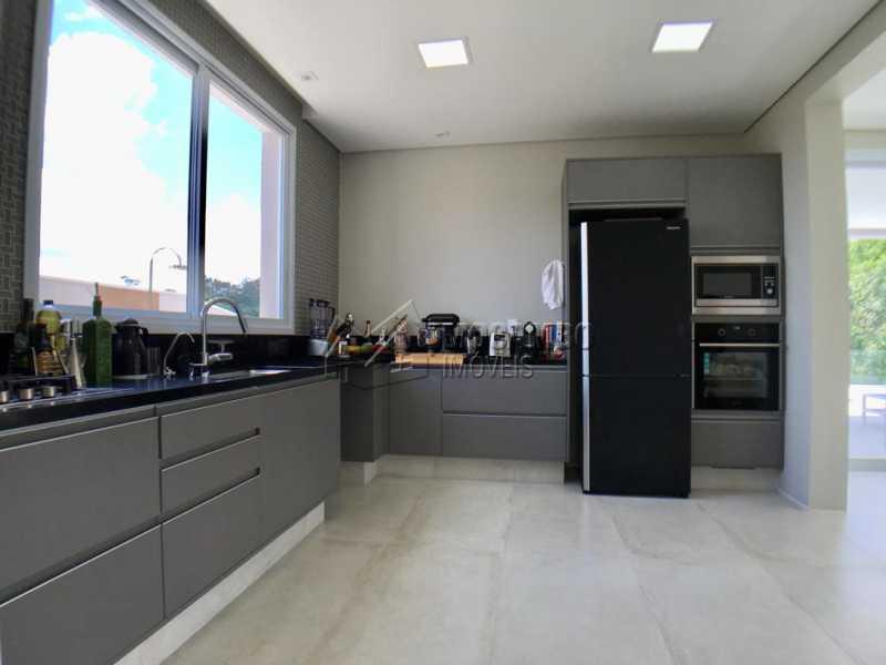 Cozinha - Casa À Venda no Condomínio Reserva Santa Rosa - Jardim Arizona - Itatiba - SP - FCCN30367 - 7
