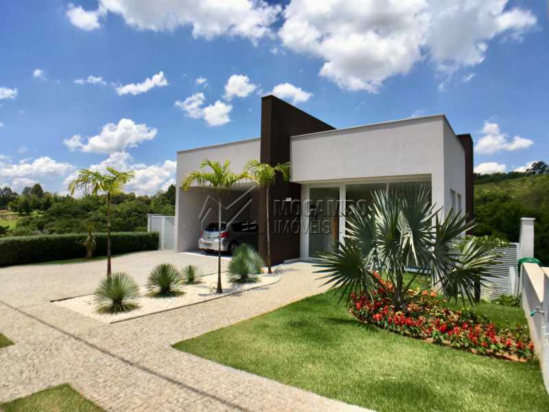 Fachada - Casa À Venda no Condomínio Reserva Santa Rosa - Jardim Arizona - Itatiba - SP - FCCN30367 - 1