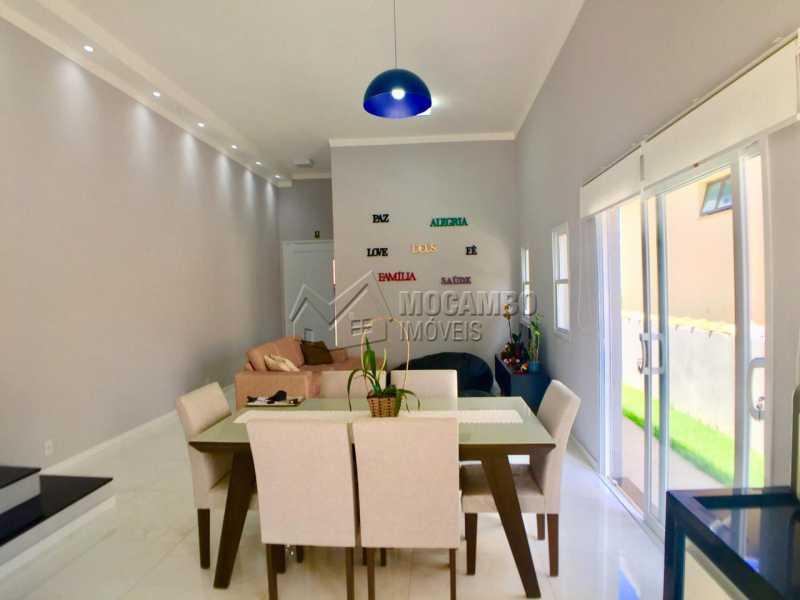 Sala de Jantar  - Casa em Condominio em condomínio À Venda - Condomínio Itatiba Country Club - Itatiba - SP - Residencial Fazenda Serrinha - FCCN30368 - 1