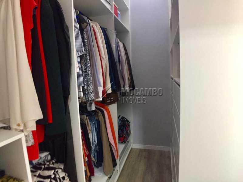 Closet  - Casa em Condominio em condomínio À Venda - Condomínio Itatiba Country Club - Itatiba - SP - Residencial Fazenda Serrinha - FCCN30368 - 11