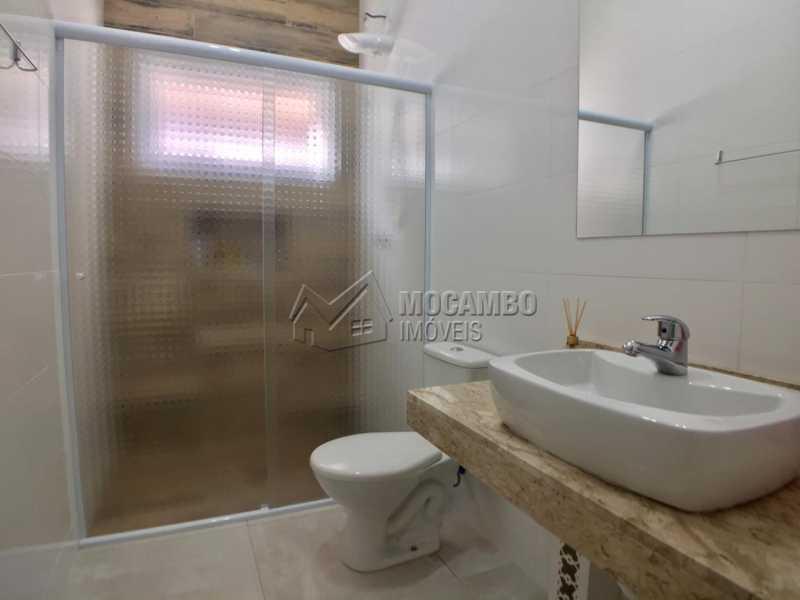 Banheiro Social  - Casa em Condominio em condomínio À Venda - Condomínio Itatiba Country Club - Itatiba - SP - Residencial Fazenda Serrinha - FCCN30368 - 9