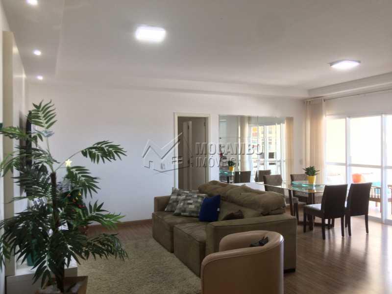 Sala - Apartamento Condomínio Edifício Panorama, Rua Augusto Cioffi,Itatiba, Centro, SP À Venda, 3 Quartos, 118m² - FCAP30459 - 1