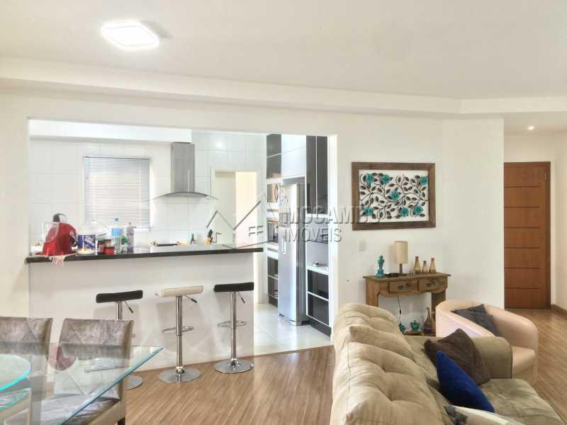 Sala - Apartamento Condomínio Edifício Panorama, Rua Augusto Cioffi,Itatiba, Centro, SP À Venda, 3 Quartos, 118m² - FCAP30459 - 3