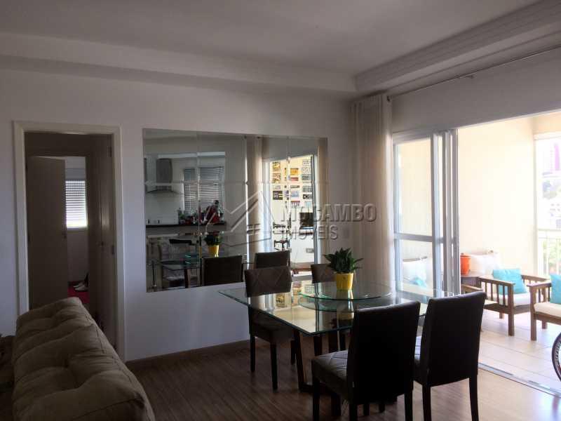 Sala - Apartamento Condomínio Edifício Panorama, Rua Augusto Cioffi,Itatiba, Centro, SP À Venda, 3 Quartos, 118m² - FCAP30459 - 5